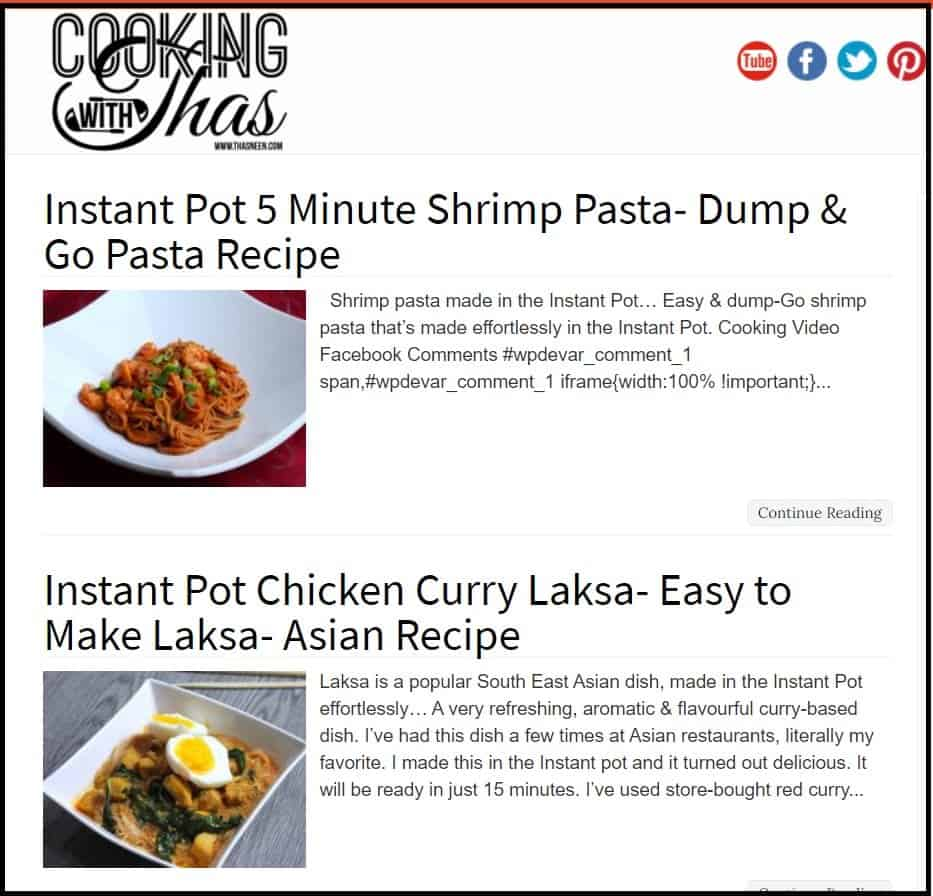 Best Non-veg Blogs in India - Cooking with thas