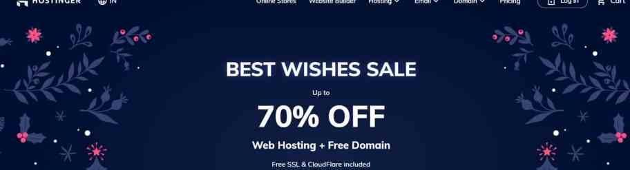 Cheap web hosting company in India - Hostinger