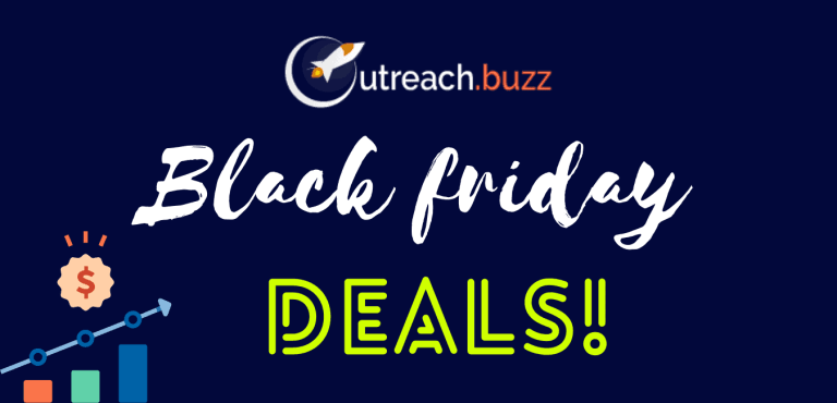 Outreach.buzz Black Friday deals