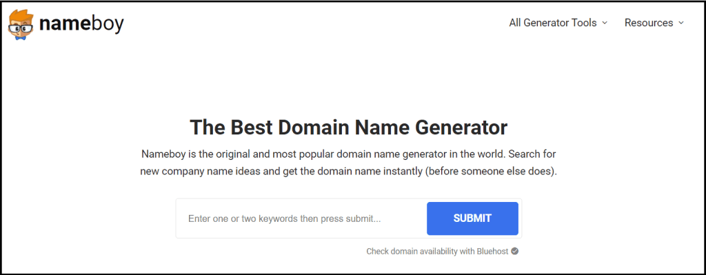 Get blog domain name Ideas