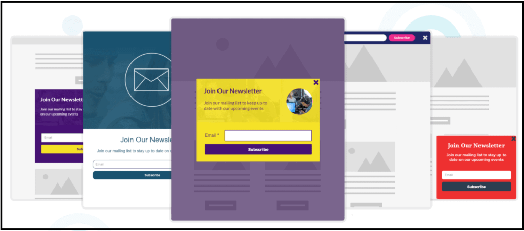 Moosend Email Newsletter templates