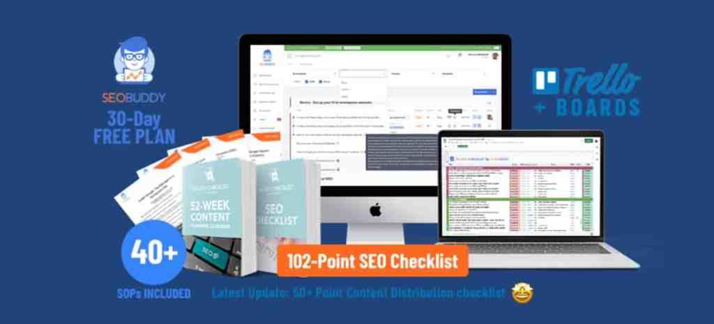 SEO checklist by SEO Buddy review