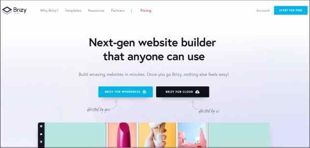 Brizy Page builder discounts