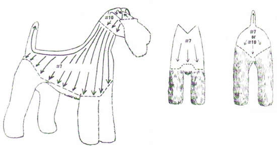 Wire Fox Terrier Grooming Instructions