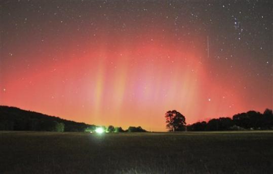 Video Aurora Borealis seen in southern US cities  Foxcrawl