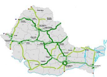 Autostrazi Romania fara Moldova