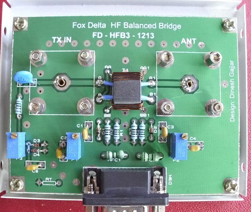 Fox Delta HF 100W Balanced S Tendam Type SWR BRIDGE By
