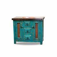 turquoise bathroom cabinet order custom bathroom vanities ...
