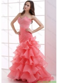 Watermelon Pink Prom Dresses | Watermelon Coloured Prom ...