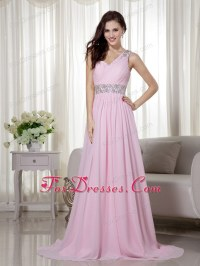 Baby Pink Prom Dress