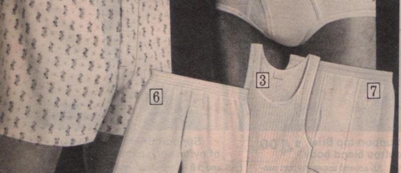 Sears Underwear Model 1975