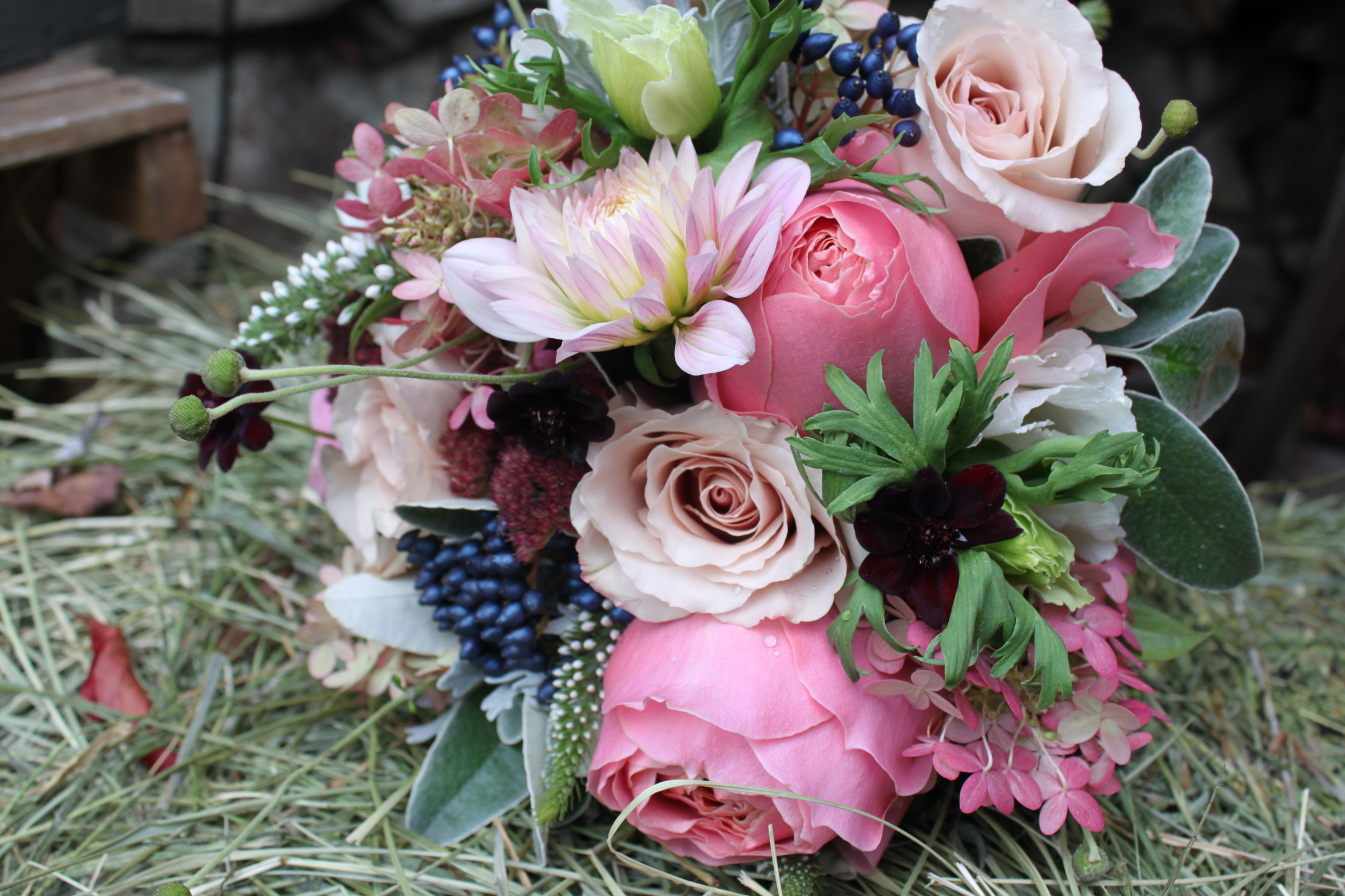 Fall Flower Bouquets