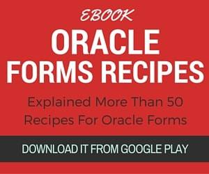 oracle forms recipes