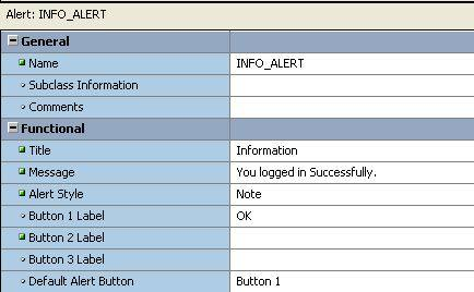 How to Create Alerts in Oracle Forms? | Vinish Kapoor's Blog