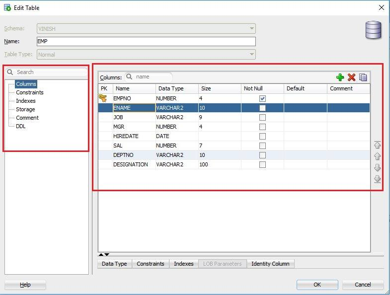 How to Alter the Table Structure in Oracle? | Vinish