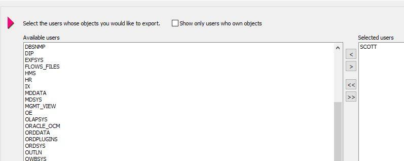 Export DMP file Using Toad for Oracle