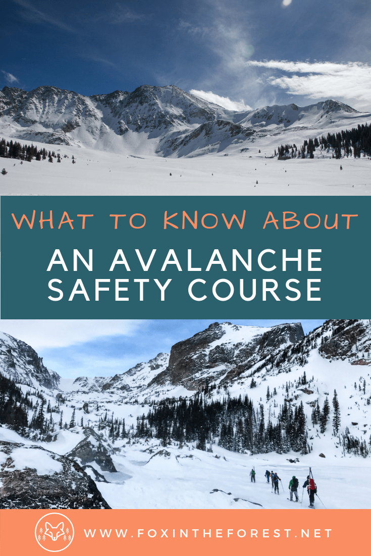 Everything you need to know about an avalanche safety course. What to know before you take an avalanche safety course. Information about AIARE courses. Which AIARE course to take. #winter #hiking #skiing #snowboarding #outdoors