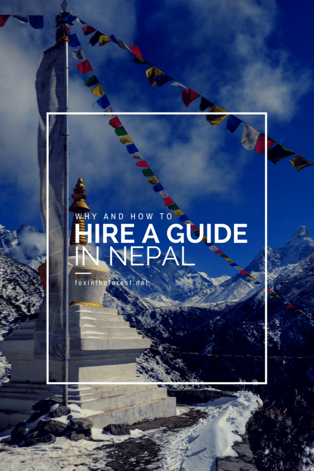 In order to truly enjoy all of the joy and wonder of the Himalaya you should hire a trekking guide in Nepal. This post explains why. Tips and tricks to finding the perfect guide for your Nepali adventure.