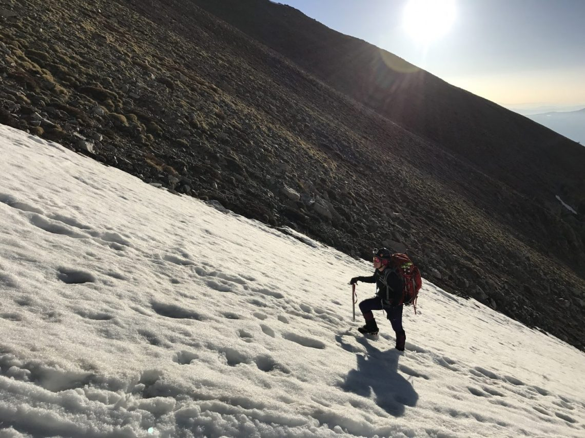 climbing a 14er angel of shavano