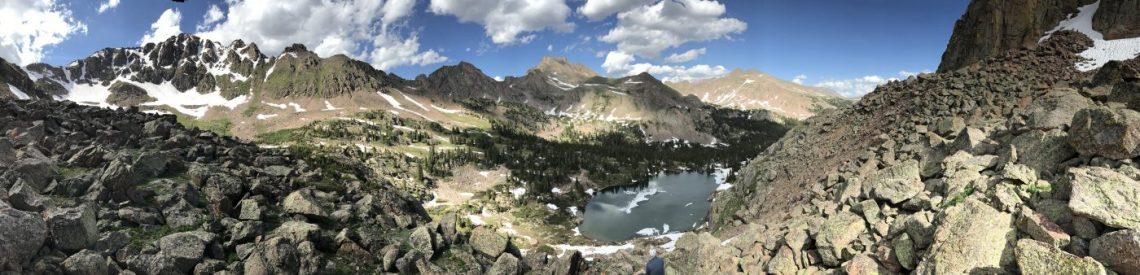 Gore Range - Gore Lake