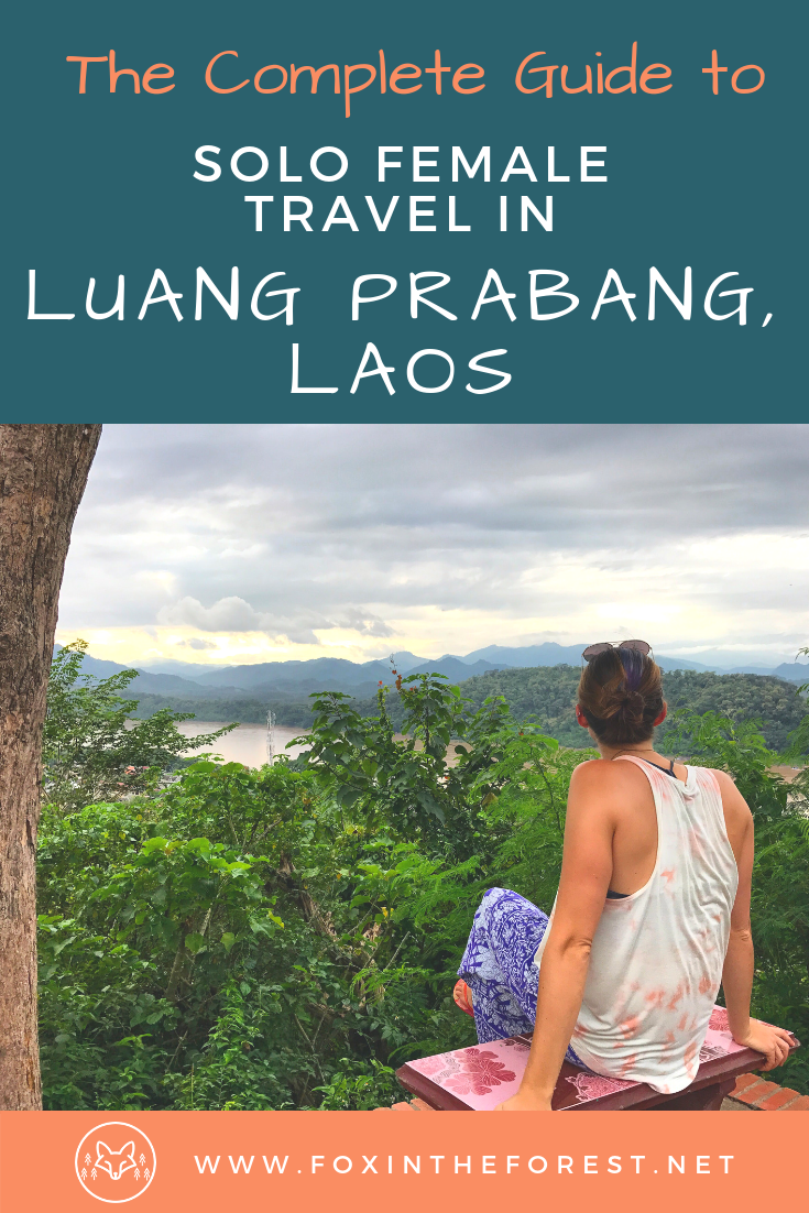 See why Luang Prabang, Laos is the perfect solo travel destination. Whether you seek adventure, culture, or cuisine, there's something for everyone in Luang Prabang. #solotravel #femalesolotravel #SouthEastAsia #LuangPrabang #Laos