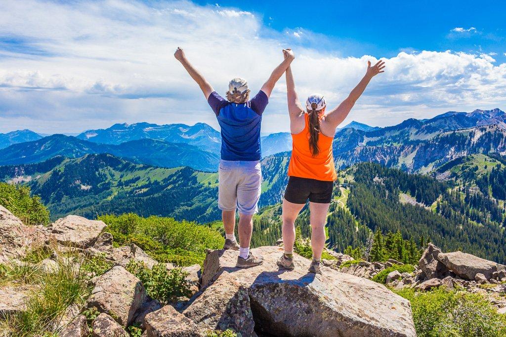 Clayton Peak Hike Trip Report
