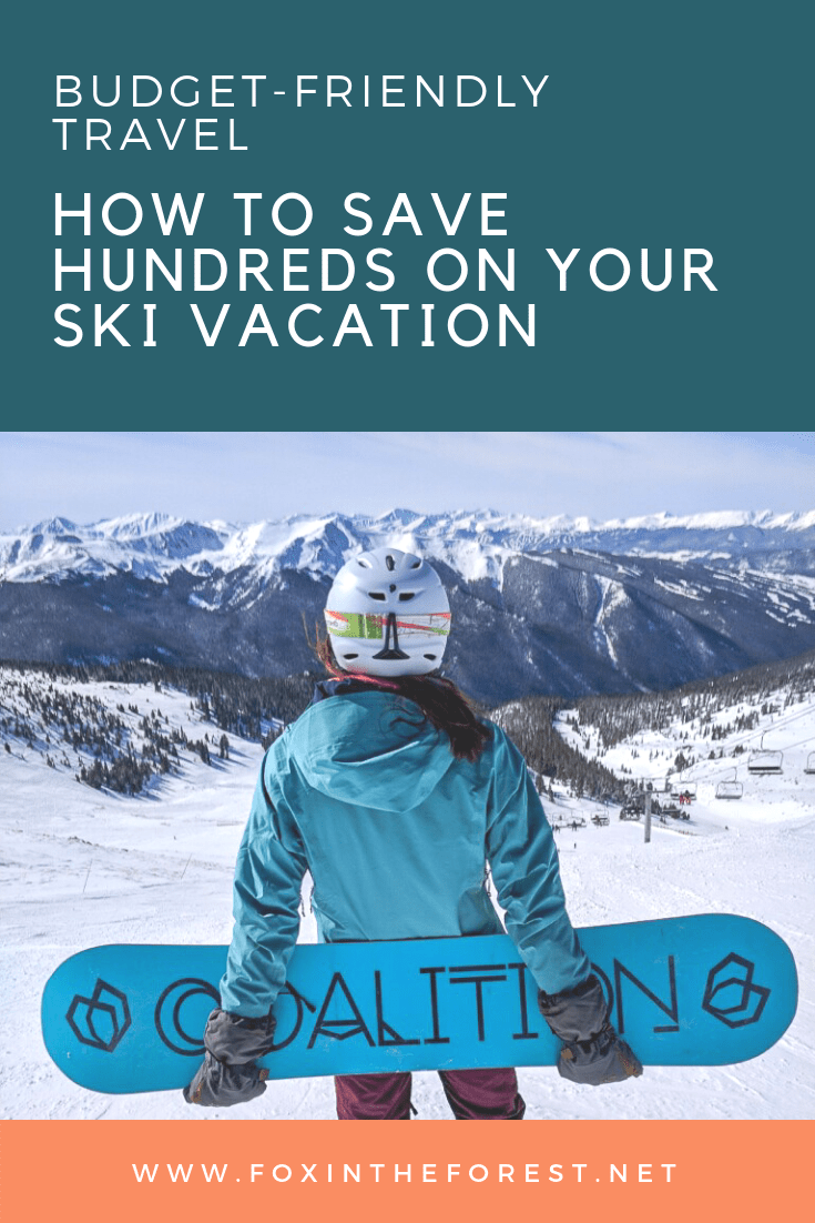 Ski getaways don't have to break the bank with these handy hacks. Before you hit the slopes this season, be sure to find out thrifty ways to save without sacrificing adventure. This post covers everything from your lift ticket to meals. Shred the slopes, not your bank account. #skiing #snowboarding #moneysavingtips #budgettravel #skivacation
