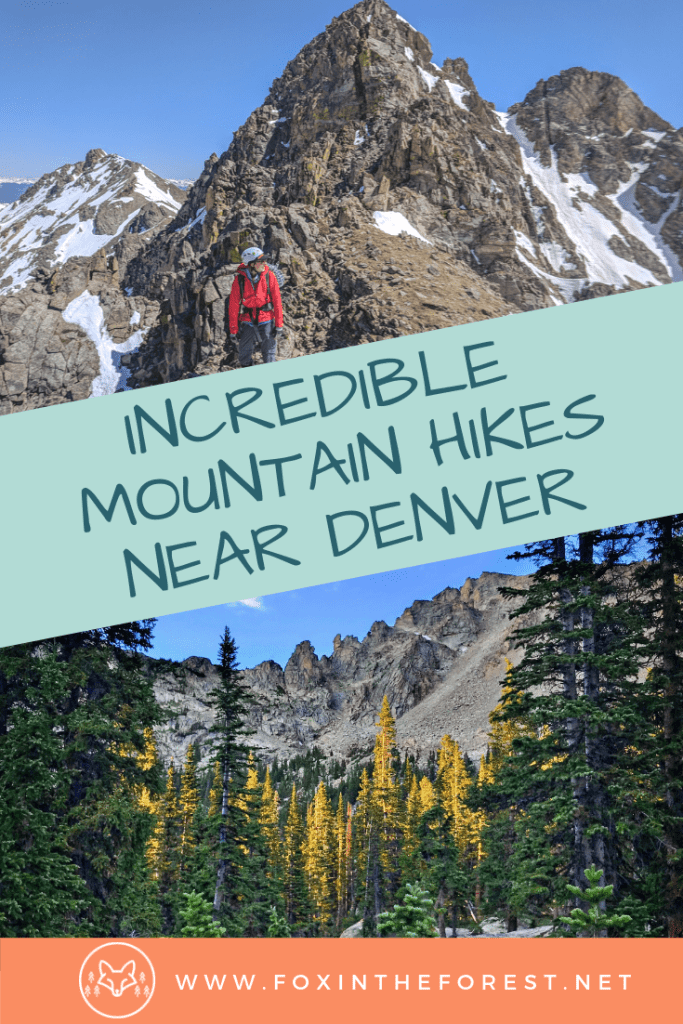 The best mountains to climb near Denver, Colorado. Things to do near Denver, Colorado. Best 13ers near Denver, Colorado. A guide to climbing mountains in Colorado. Denver's best mountain hikes. Uncrowded peaks near Denver, Colorado. #mountains #climbing #hiking #outdoors #Colorado #travel