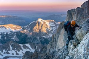 Climbing with Jackson Hole Mountain Guides
