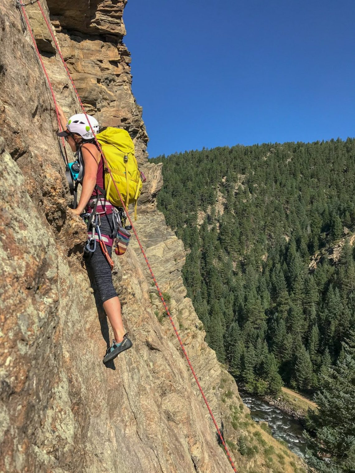 best climbing areas near denver