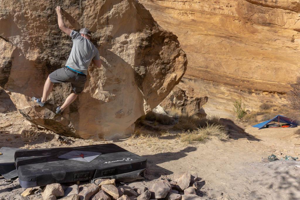 tips for camping in the desert
