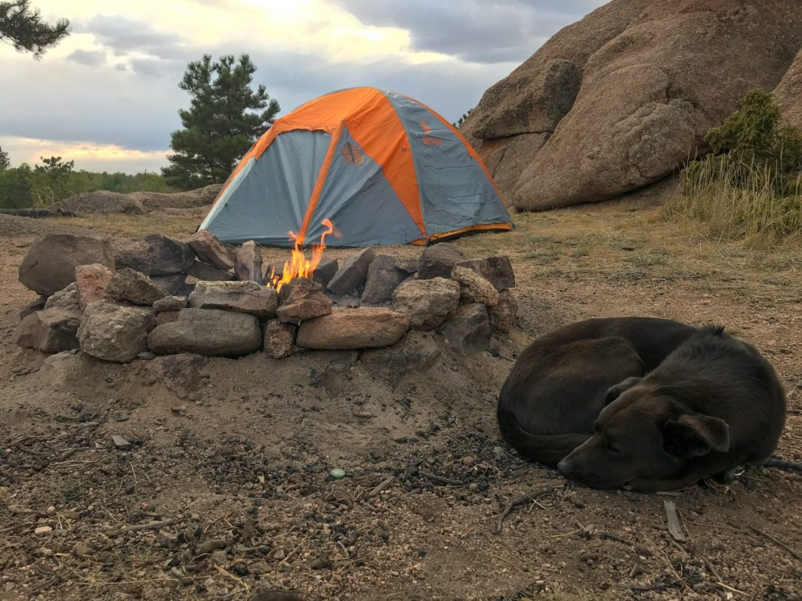 free camping near denver
