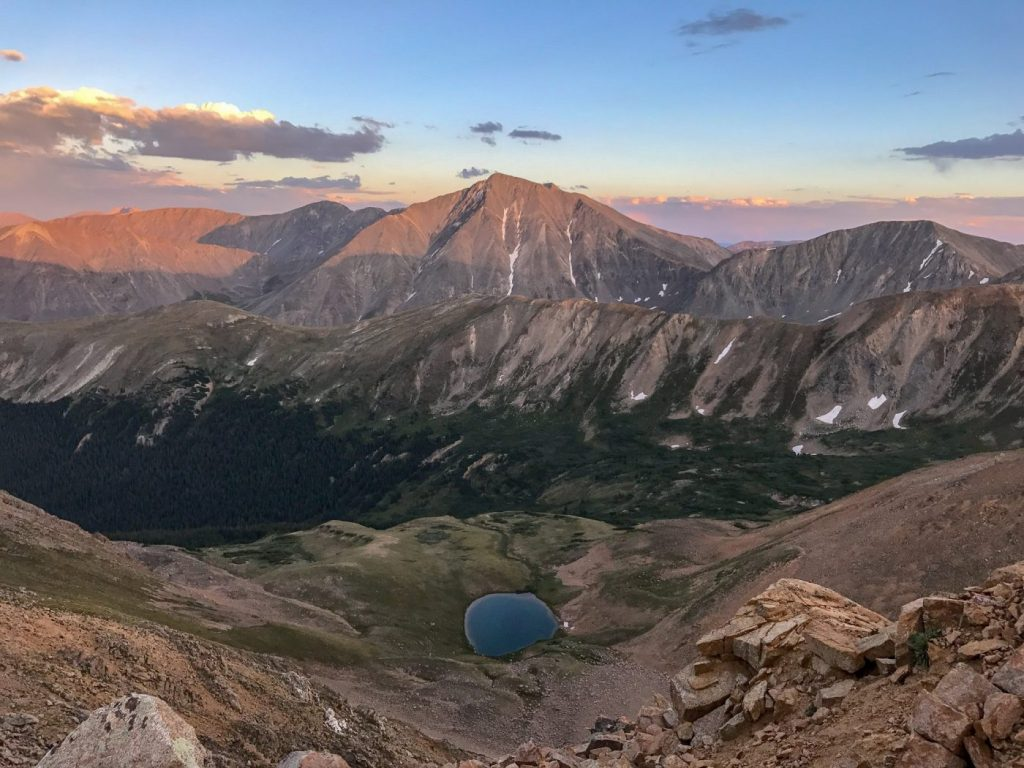 easy 14ers near denver