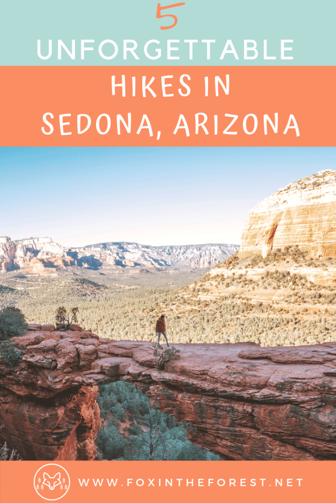 The most beautiful hikes in Sedona, Arizona. Amazing sunset and sunrise photography spots in Sedona, Arizona. Vortex hikes, things to do in Sedona, day trips with kids, Cathedral rock and more. #hiking #usatravel #travel #Arizona