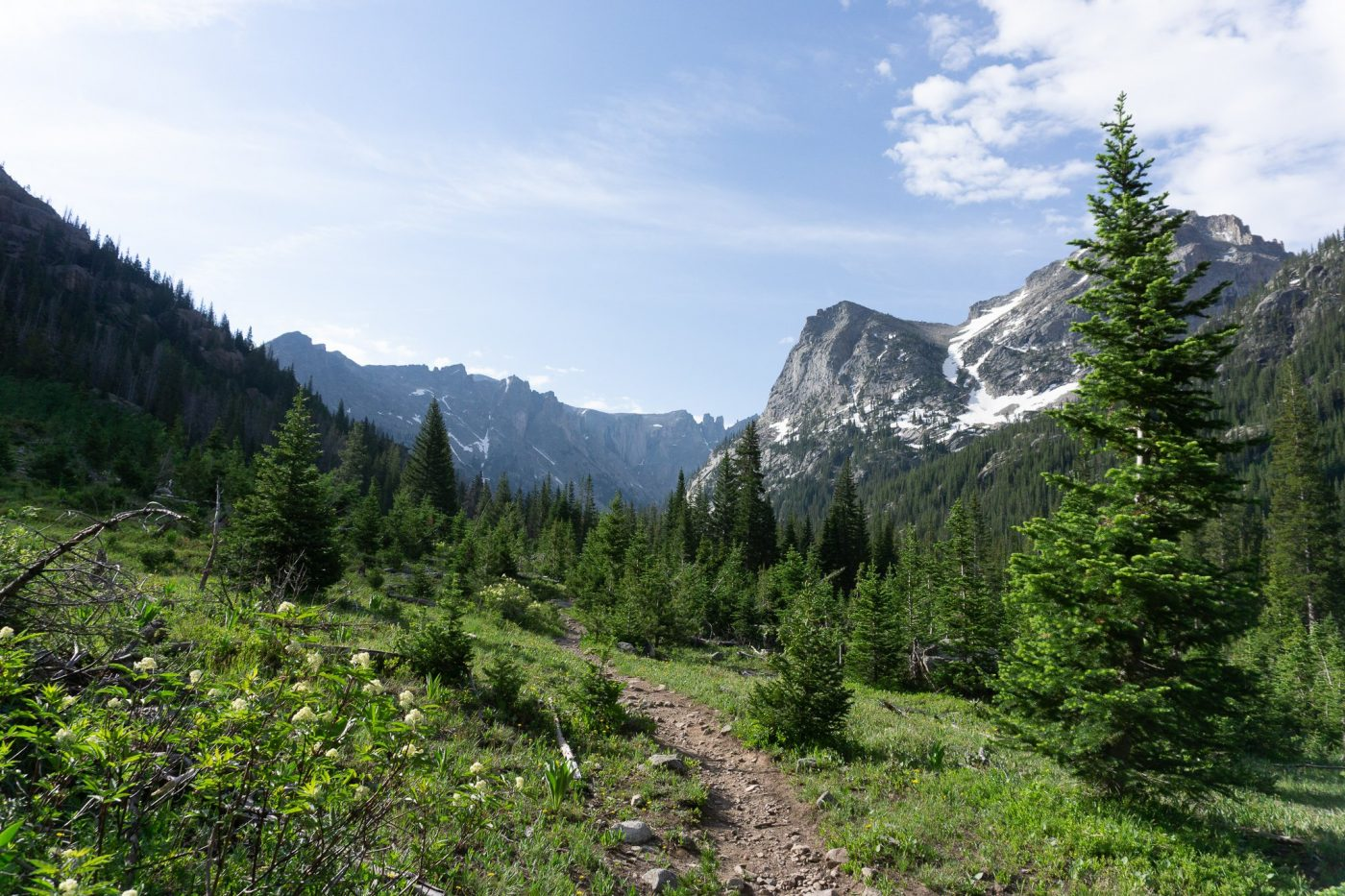best backpacking trips in colorado