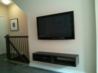 flat-screen-tv-mounts-Living-Room-Contemporary-with-audio ...