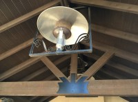 natural gas patio heater Patio Mediterranean with ceiling ...