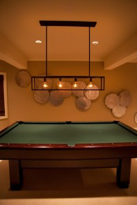 pool-table-light-fixture-Basement-Eclectic-with-Iron-Pool ...