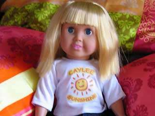 Caylee Sunshine Doll