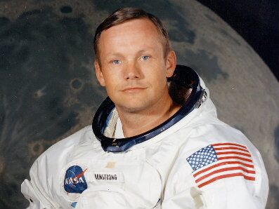 First human on the moon - Neil Armstrong