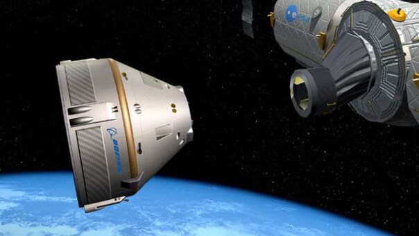 Helping pave the road for the future of commercial spaceflight, Boeing is hard at work on the research and development of a new space capsule aimed at flying people to the International Space Station. (BOEING)