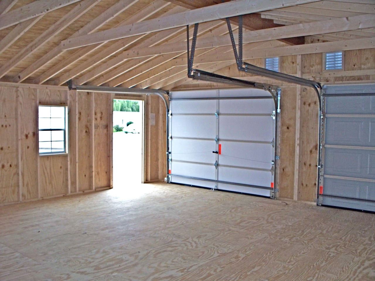 Pre Fab Garage, Built Garage, Lancaster Pennsylvania, Fox's Sheds