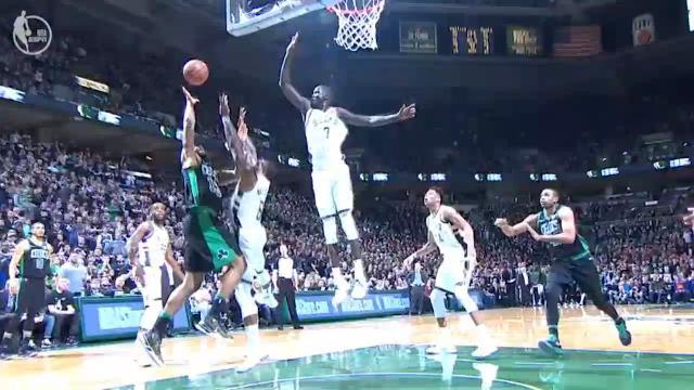 Thon blocks out Celtics