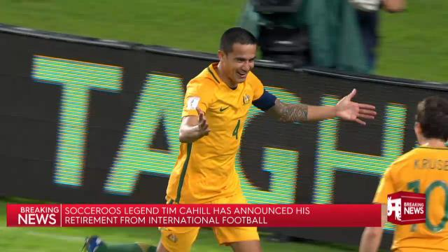 Cahill retires from Roos