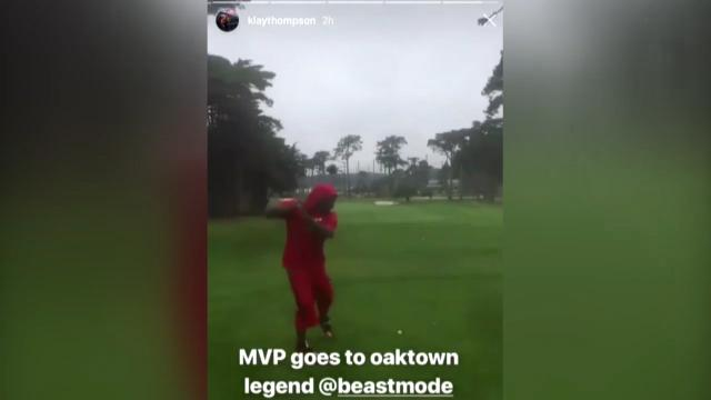 Beast Mode takes on golf