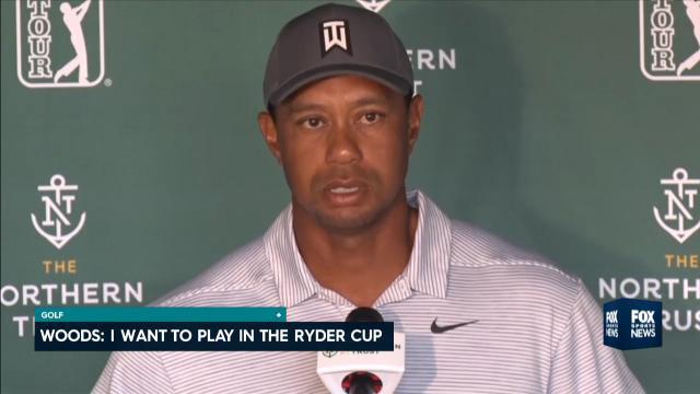 Woods has sights set on Ryder