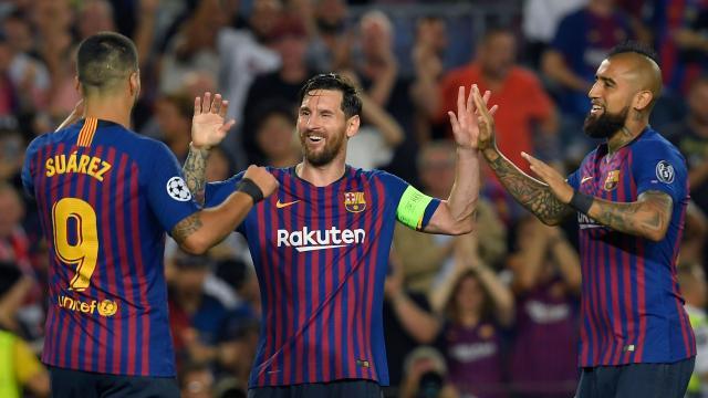 Messi dominates matchday 1