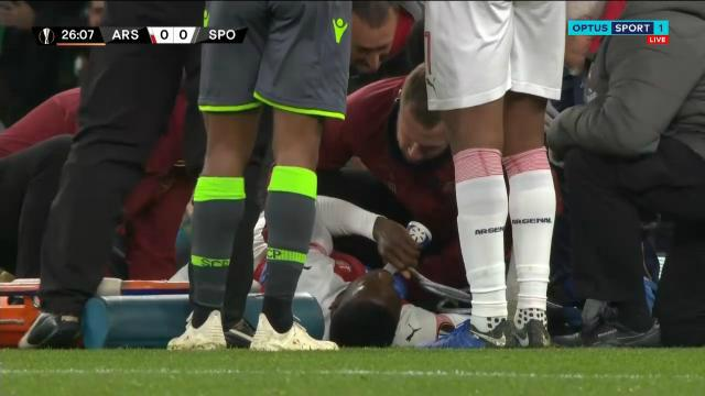 Arsenal Ace carried off
