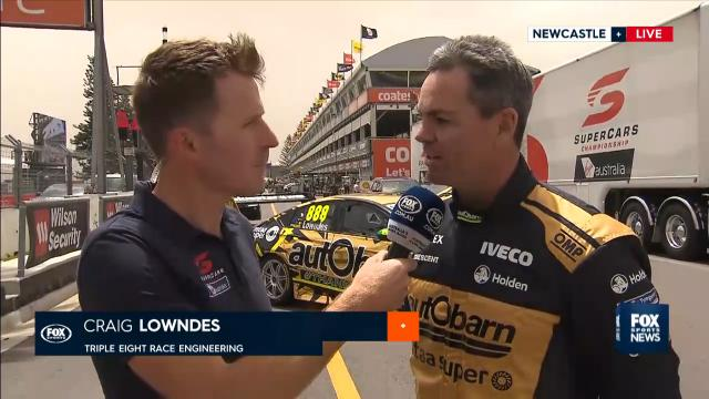 Lowndes geared for final race