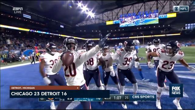 Bears dance past Lions